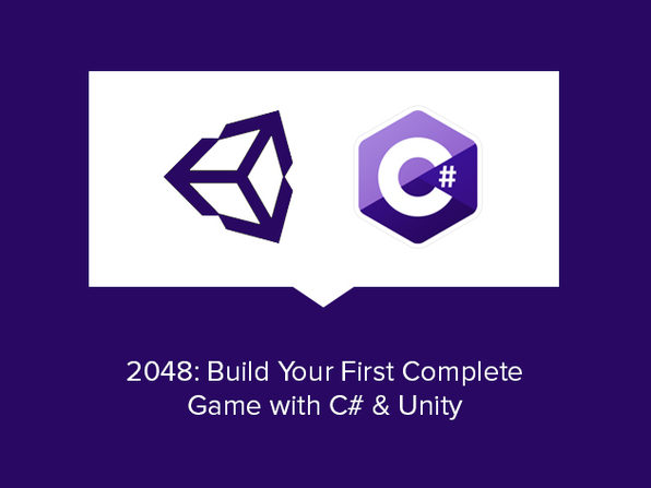 2048: Build Your First Complete Game with C# & Unity - Product Image