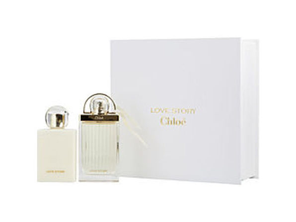 CHLOE LOVE STORY by Chloe EAU DE PARFUM SPRAY 2.5 OZ & BODY LOTION 3.4 OZ For WOMEN - Product Image