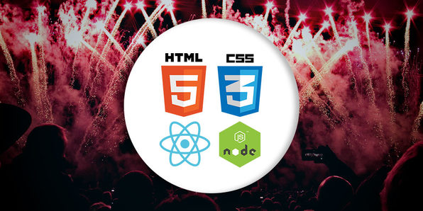 Beginner Full Stack Web Development: HTML, CSS, React & Node - Product Image