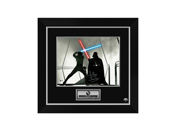 Signed & Framed Star Wars Memorabilia