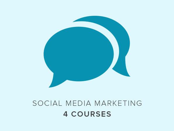 4 Courses: Social Media Marketing - Product Image