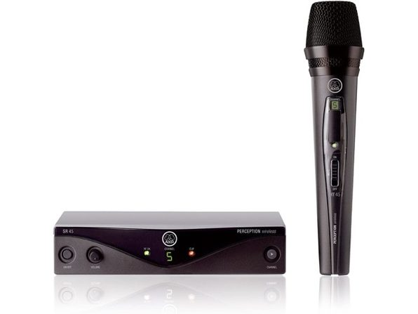 AKG 3251H00010 Pro Audio Wireless Microphone System - 1 x SR45 Receiver - Product Image