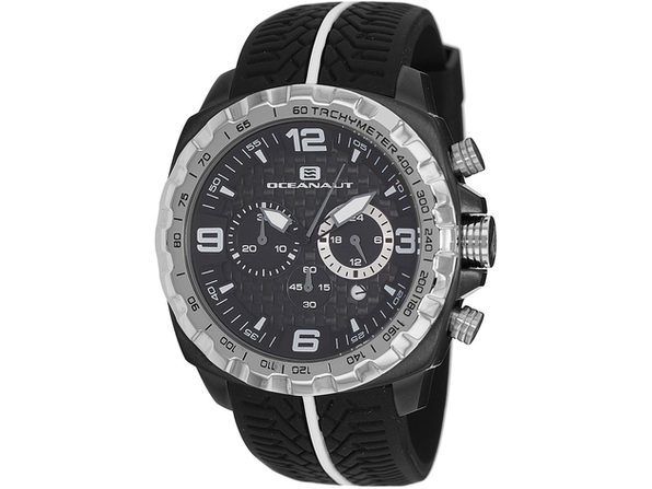 Oceanaut Men's Racer Black Dial Watch - OC1120