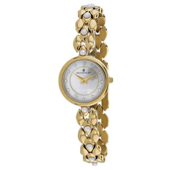 Christian Van Sant Women's Perla Mother of Pearl Dial Watch - CV0616 - Product Image