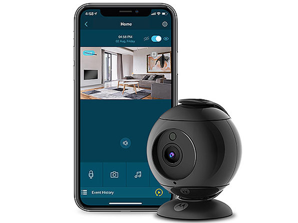 Motorola FOCUS89 Full HD Wi-Fi Indoor Camera (2-Pack)