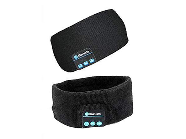 Wireless Bluetooth Winter Headband (Black) - Product Image