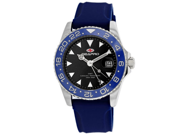 Seapro Men's Black Dial Watch - SP0122BL - Product Image