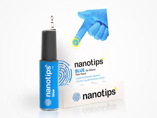 Nanotips Touchscreen Glove Tips (Fabrics & Fleece) | StackSocial