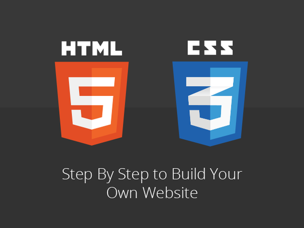 Step By Step HTML5 & CSS3 Site Design - Product Image