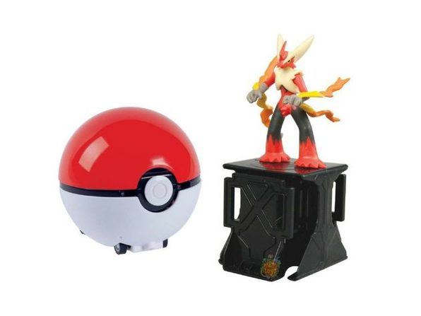 Pokemon Super Catch N Return Pokeball - Mega Blaziken