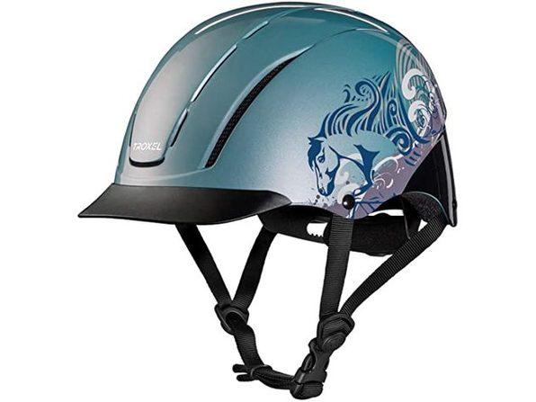 Troxel Spirit Performance Helmet, Extra Small 6 1/4 - 6 1/2, Sky Dreamscape (Like New, Damaged Retail Box)