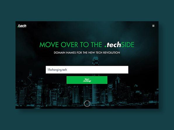 Radix '.tech' Domain: 5-Yr Subscription