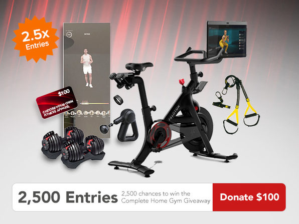 Donate $100 for 2500 Entries - Product Image