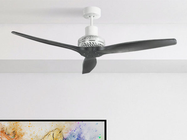 "Star Proppeller 52"" Indoor Outdoor Ceiling Fan (White)"