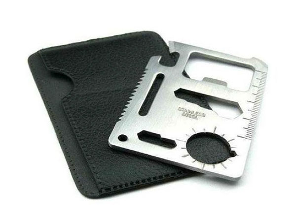 Wallet Sized Pocket Multi-Tool: 2-Pack