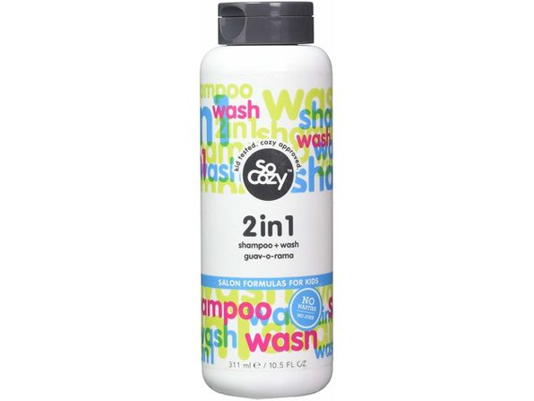 SoCozy 2 in 1 Shampoo + Body Wash Guav-o-rama, 10.5 Fluid Ounce - Blue