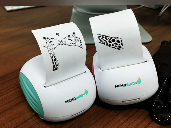 MEMOBIRD Mobile Thermal Printer Valentine's Day Bundle