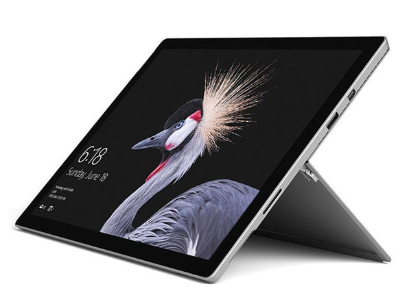 "Microsoft Surface Pro 12.3"" Tablet 4GB RAM - Silver (Wi-Fi + 4G LTE)"