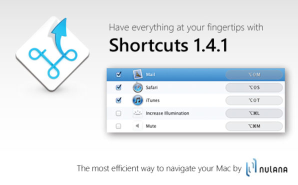 Shortcuts - Product Image
