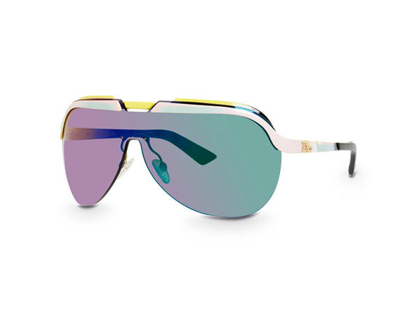 Dior Solar Sunglasses Pink/Yellow - Product Image