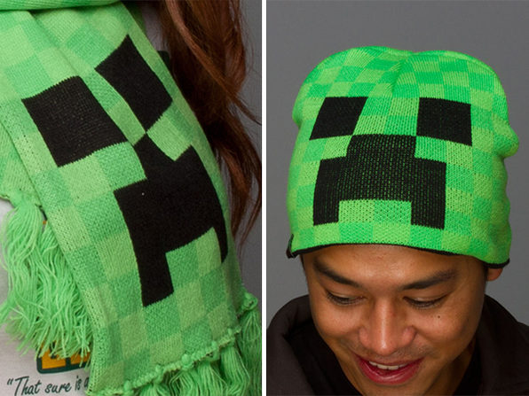 55a3bda164c Today s Deal on The Ultimate Minecraft Creeper Gear Bundle + Plush ...