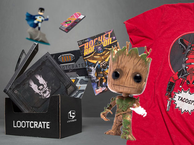 Loot Crate Exclusive Mystery Bundle - Get 6-7 Professionally Curated, Exclusive Geeky Goodies Delivered to Your Door
