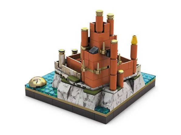 Mega Construx Game of Thrones The Red Keep Building Set with House Lannister Sigil