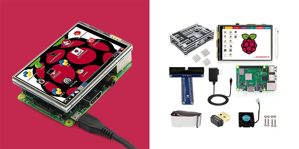 A Raspberry Pi 3 starter kit
