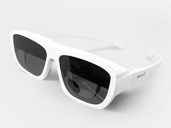 GLOW: Mixed Reality Smart Glasses (White)