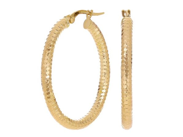 Christian Van Sant Italian 14k Yellow Gold Earrings CVE9LSI - Product Image