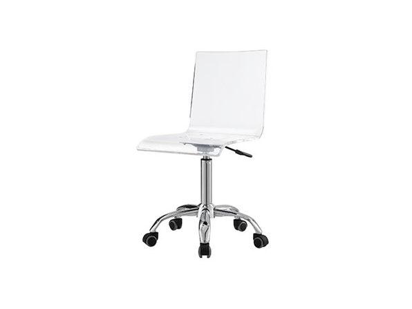 Casandra Clear Acrylic Task Chair