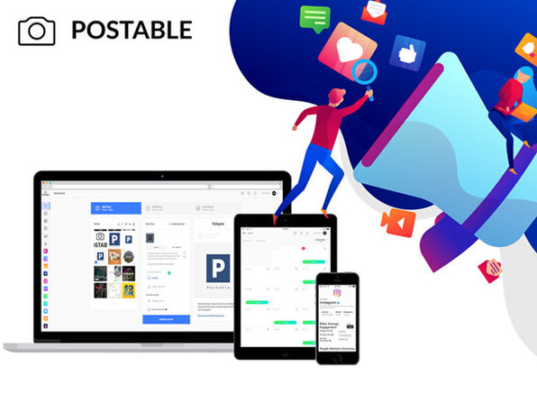 Postable Instagram Automation Charlie Plan: Lifetime Subscription