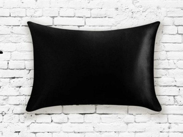 Silk Pillowcase (Black)