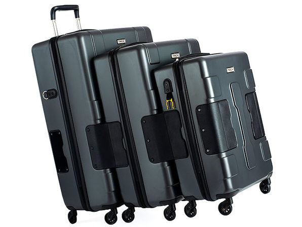 Tach Tuff Attachable Hard Luggage Set