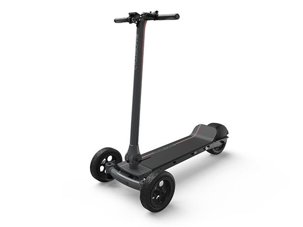 Cycleboard Elite Pro All Terrain Electric Vehicle (Carbon Grey)