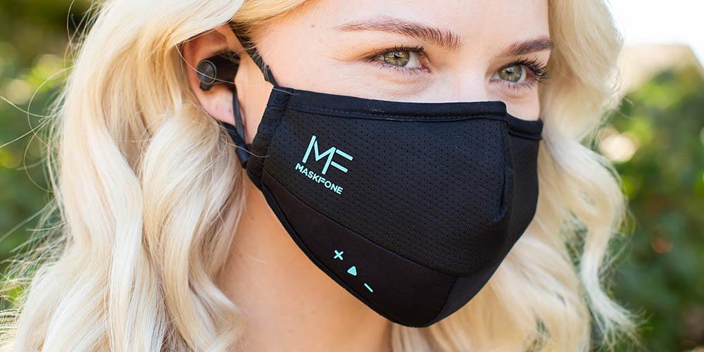 MaskFone: Smart Face Mask + Filter Bundle, on sale for $49.99