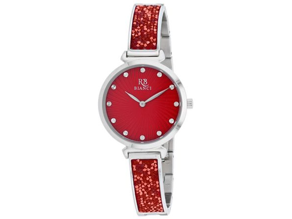 Roberto Bianci Women's Brillare Red Dial Watch - RB0203