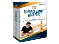 Queen's Gambit Accepted Mastermind with IM Milovan Ratkovic - Product Image