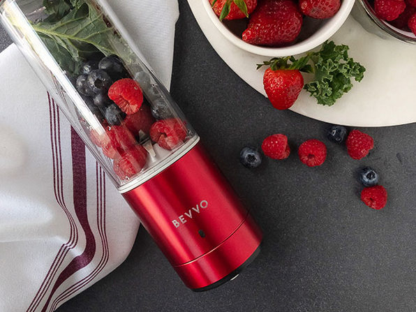 BEVVO: Premium Portable Blender + Free Ice Tray (Black)