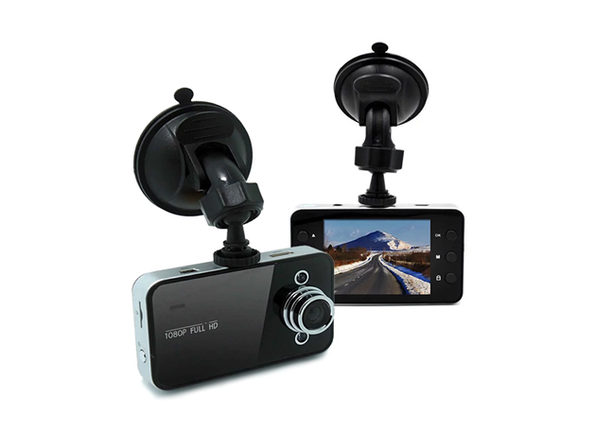 DashCam Hi-Res Car Video Recorder + 8GB MicroSD Card - Product Image