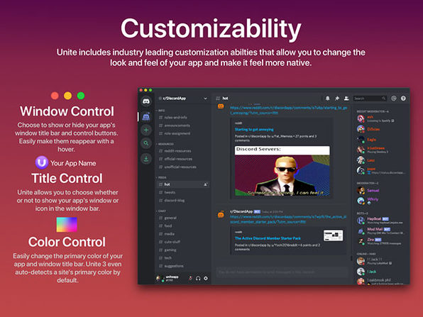 Unite 3: Website-to-App Tool for Mac  (2 Licenses)