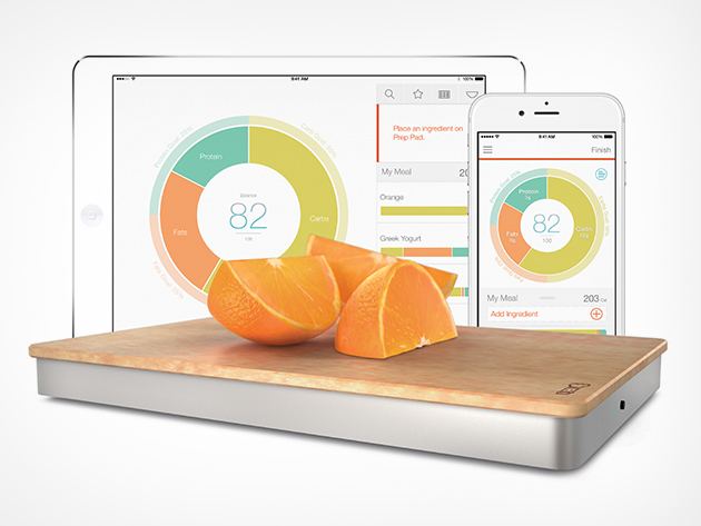 Prep Pad Smart Food Scale Amp Nutrition Tracker Cult Of