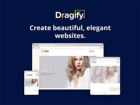 Dragify Website Builder: 1-Yr Subscription