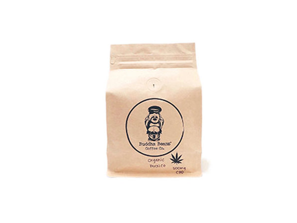 Buddha Beans CBD-Infused Whole Coffee Beans (Mexico/12oz)