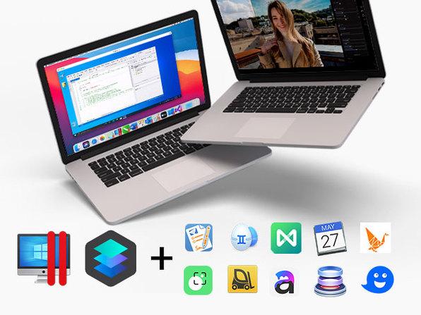 The Official Cyber Monday Mac Bundle Ft. Parallels Pro & Luminar 4
