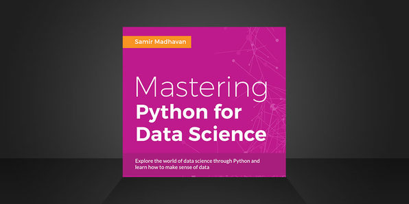 Mastering Python for Data Science eBook - Product Image