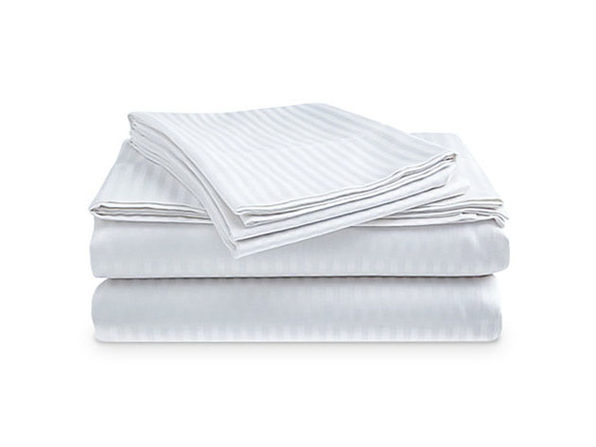 Comfort Linen Ultra Soft 1800 Series Bamboo-Blend Sheets: 4-Piece Set (White)