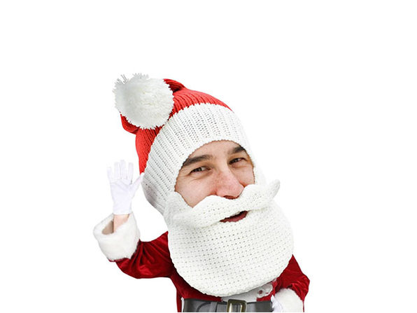 Beard Head® The First Ever Bearded Headwear: Classic Santa