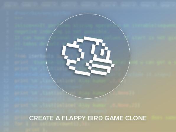 Python Game Development - Create a Flappy Bird Clone - Product Image