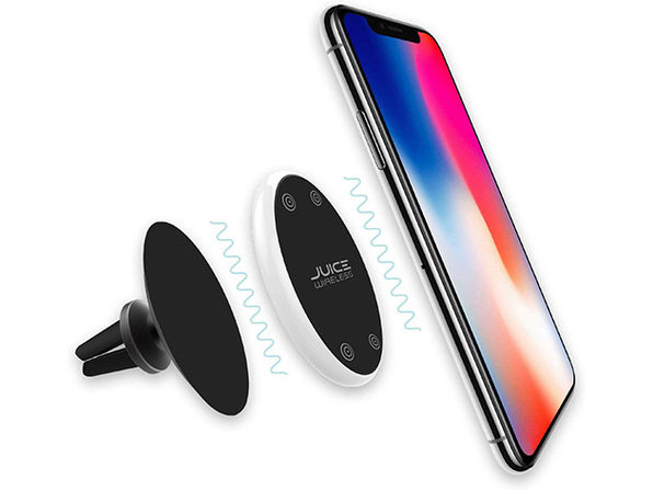 Tech2 Juice 2-in-1 Wireless Car Charger